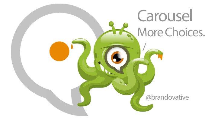 Carousel Card Form Instead of Regular Sitelinks?